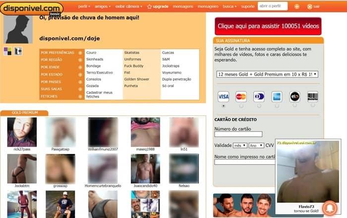 página inicial com opçoões de tipos de relações e mebros online