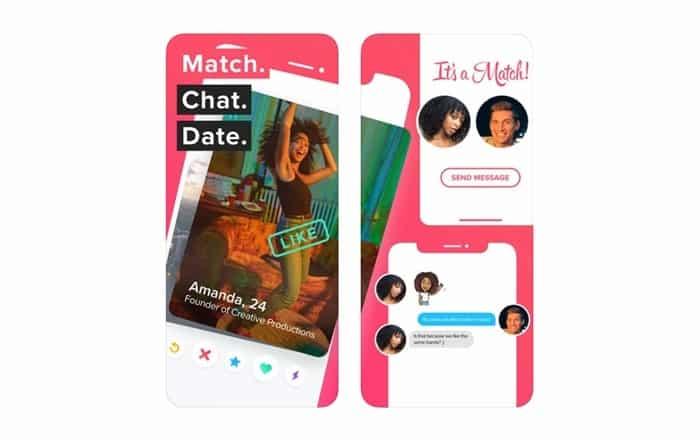 Como funciona Tinder com sistema de match e coincidências