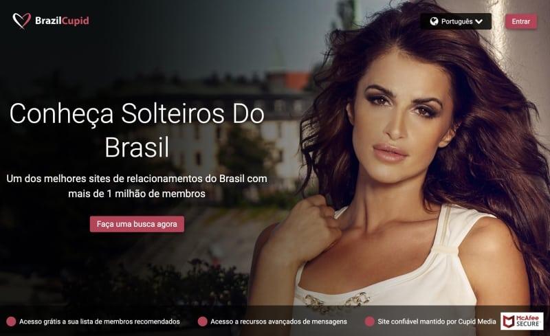 BrazilCupid - Site de Namoro para Solteiros Brasileiros