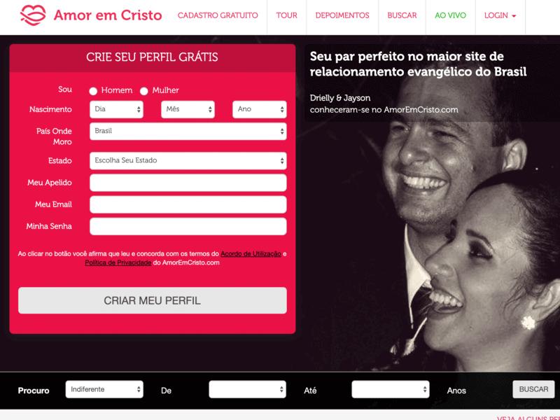 Amor em Cristo: relacionamento evangélico para brasileiros